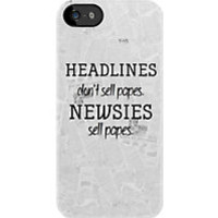 Newsies: Top Selling iPhone & iPod Cases