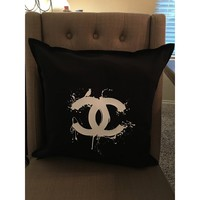 CC Designer Inspired Pillow COVER ONLY