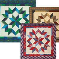 Carpenter's Star, Wall Hanging or Table Topper Pattern, by Debbie Maddy