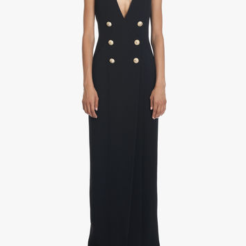 Long viscose dress | Women's dresses | Balmain