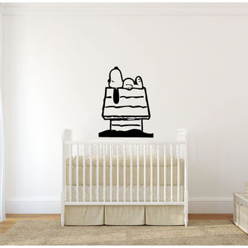 Snoopy Inspired Vinyl Wall Decal Sticker Graphic