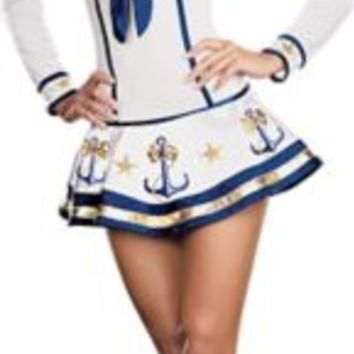 Adult Makin' Waves Sexy Sailor Costume | Party City