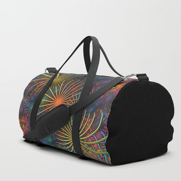 Fireworks Duffle Bag by Lyle Hatch
