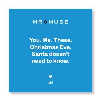 Gift Note, Tissue & Gift Box | You. Me. These. Christmas Eve