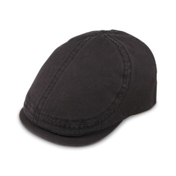 Copy of ARI BLACK GOORIN BROS COTTON FLATCAP HAT