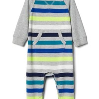 Stripe raglan kanga one-piece | Gap