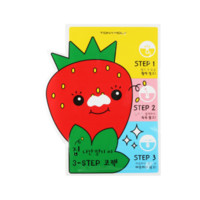 TONYMOLY Strawberry Seed 3-Step Nose Pack - Soko Glam