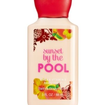 Travel Size Body Lotion Sunset By The Pool