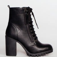 Edge Of Life Boots - Black