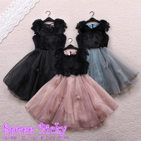 Sweet Organza fluffy dress SP130307