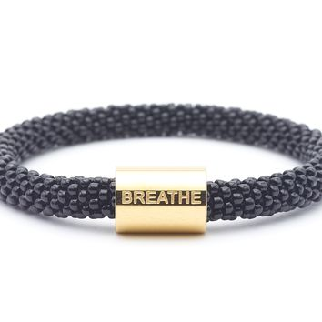 Breathe Word Bracelet