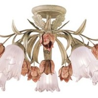 One Kings Lane - Mirrors & Lighting - Walker Semi Flush Mount