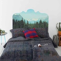 Magic Mountain Headboard Wall Decal- Multi One
