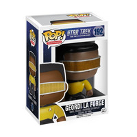 Geordi La Forge Star Trek The Next Generation POP! Television #192 Vinyl Figure
