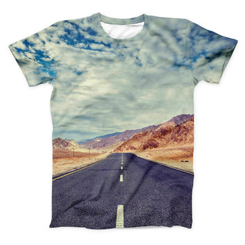 The Desert Road ink-Fuzed Unisex All Over Full-Printed Fitted Tee Shirt