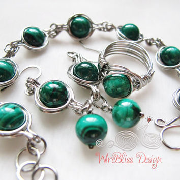 TUTORIAL - Twice Around The World (TAW) Wire Wrapped Bracelet