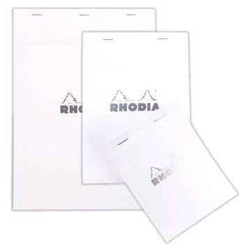 Top Stapled Rhodia Ice Pads - Lined