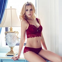 Underwear Bra Lace Set [9779882435]