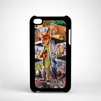 Zootopia Design iPod 4 Case