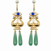 DELFINA DELETTREZ EYES ON ME EARRINGS - WOMEN - DELFINA DELETTREZ - OPENING CEREMONY