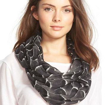 Women's Halogen 'Feather Fall' Infinity Scarf