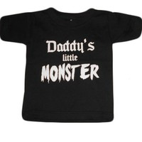 Kid's Daddy's Monster T-Shirt