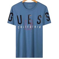 Guess Fashion Casual Short Sleeve Top Tee