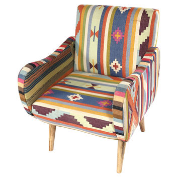 Kilim Accent Chair, Accent & Occasional Chairs