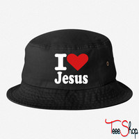 Jesus bucket hat