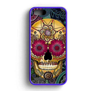 Sugar Skull Garden iPhone 5 Case Available for iPhone 5 Case iPhone 5s Case iPhone 5c Case iPhone 4 Case
