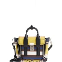 3.1 Phillip Lim Mini Pashli Stripe Leather Satchel | Nordstrom