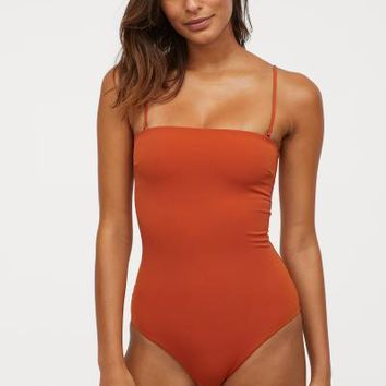Swimsuit - Terracotta - Ladies | H&M US