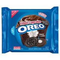Oreo Filled Cupcake Cookies LE 10.7oz