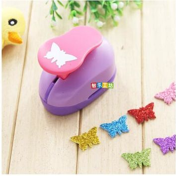 2-2.5cm Butterfly shape EVA foam punch paper punch for greeting card handmade ,Scrapbook Handmade puncher free shipping