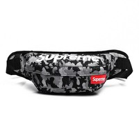 Men's and Women's Supreme Chest Pockets Oxford Casual Riding Bag  061