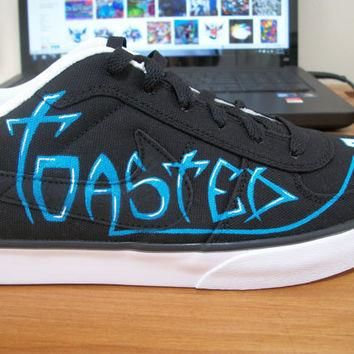 Custom Graffiti Hand Painted Nike 6.0 Shoes - Will Do Custom Orders