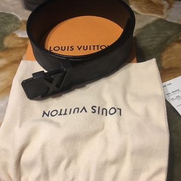 Louis Vuitton M9808T LV INITIALES 40mm With Origianl Box, Bag, & Receipt 95CM