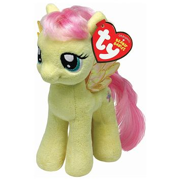 "Fluttershy Ty My Little Pony 8"" Plush MLP"