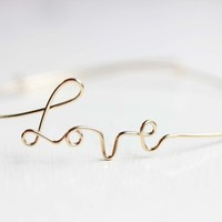 Supermarket: Wire Love Bracelet from Diament Jewelry
