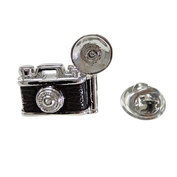 Retro Flash Camera Lapel Pin