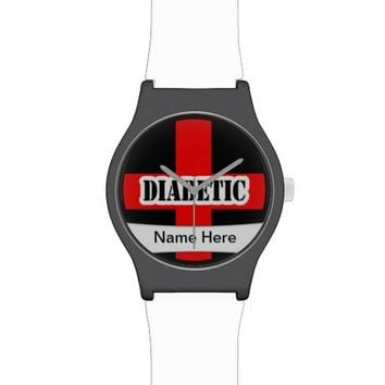 Medical Alert Diabetic Emergency Wrist Watches