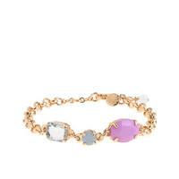Girls' statement stone bracelet