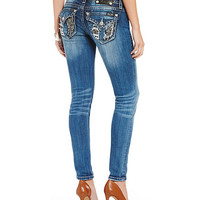 Miss Me Wing-Pocket Skinny Jeans | Dillards