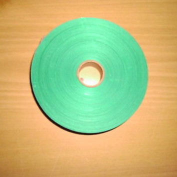 """ROLL OF SATIN GREEN RIBBON; 1"""" WIDE; BRAND NEW"""