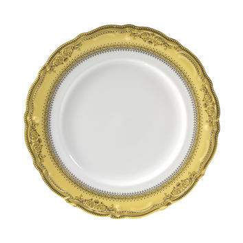 13/4L x 1H Vanessa Gold Dinner Plate/Case Of 24
