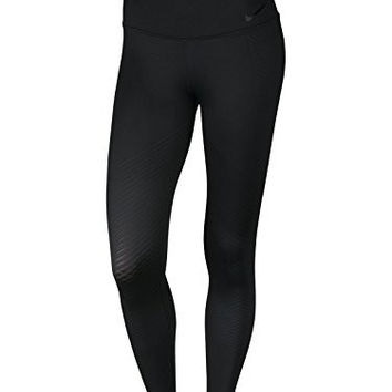 Nike Women's Zonal Strenght Training Tight Black 830475-014 (SIZE: S)