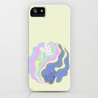 Yin and Yang iPhone & iPod Case by Citron Vert