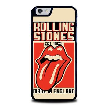 the rolling stones 1962 iphone 6 6s case cover  number 1