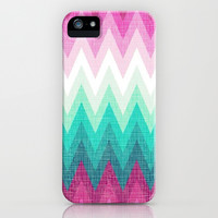 Chevron Love iPhone & iPod Case by Pink Berry Pattern