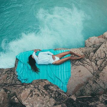 XL Seafoam Towel by Sand Cloud